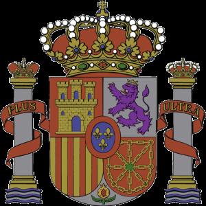 Escudo de España. Actual modelo oficial.