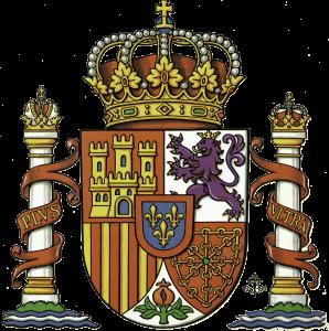 """Escudo de España. versión en """"LOS SÍMBOLOS DE ESPAÑA"""""""