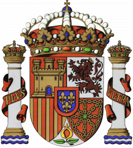 Escudo  de España. PORTADA DE SÍMBOLOS DE ESPAÑA